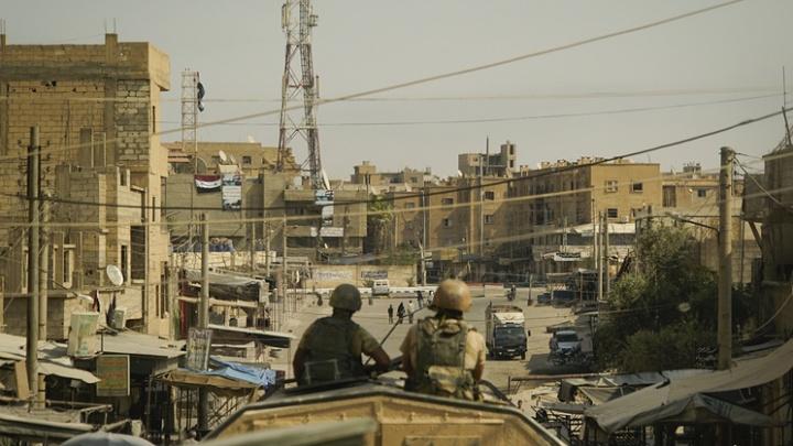 Четверо российских военных погибли в бою с боевиками в Сирии