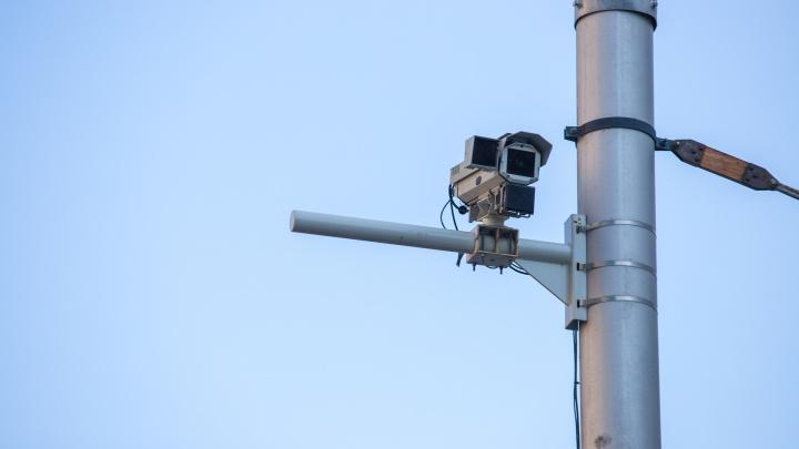 По дороге к Платову поставили новые видеокамеры