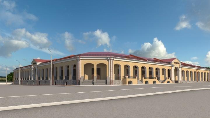 Фуд-корт, банк и выставки: рассказываем, что появится в кунгурском Гостином Дворе