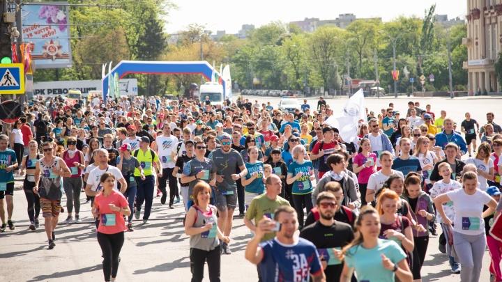 В Ростове стартовал самый массовый легкоатлетический забег: показываем наиболее яркие фотографии
