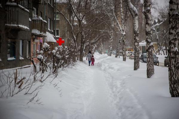 Через два дня синоптики прогнозируют небольшое потепление