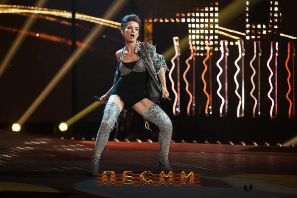 Члены жюри сказали, что у Настики отличная экспрессия и поставлен вокал