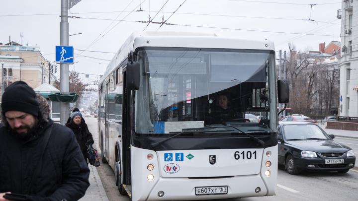 Власти Ростова потребовали от перевозчиков 300 миллионов рублей за плохую работу транспорта