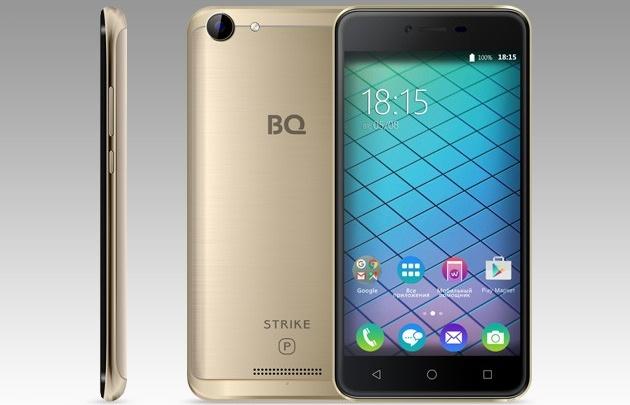 BQ представила новый смартфон BQ-5059 Strike Power с мощным аккумулятором 5000 mAh