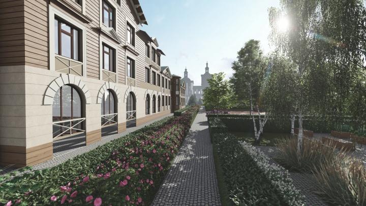 Сбербанк профинансировал строительство архитектурного ансамбля «Вознесенский» в Тюмени
