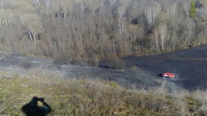 За сутки сотрудники МЧС Башкирии потушили три природных пожара