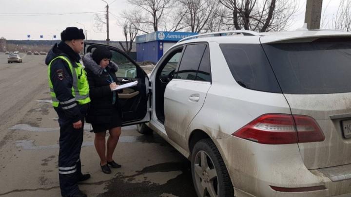 Охранная фирма в Челябинске лишилась Mercedes-Benz из-за долгов по кредитам