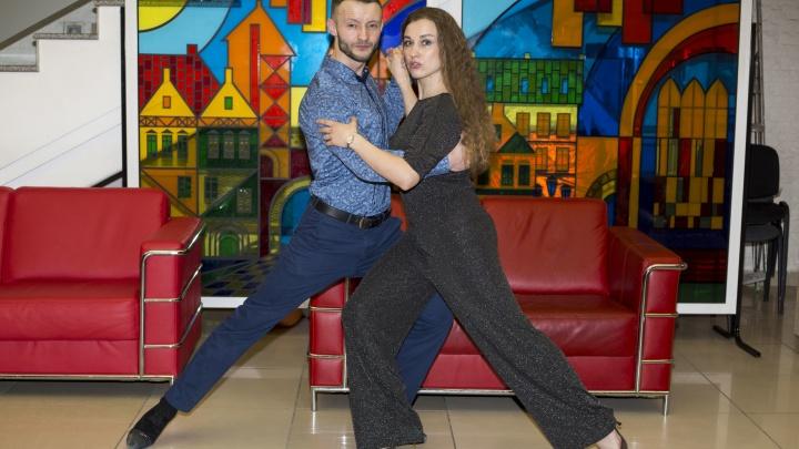 Рождение страсти: любители танго из разных стран исполнили энергичный танец в Новосибирске