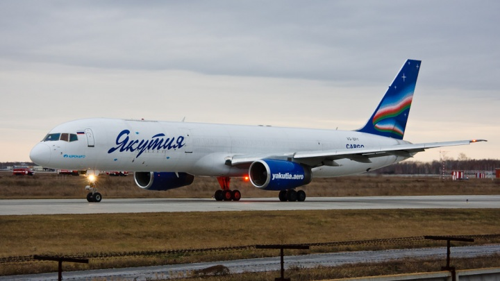 «Якутия» отменила рейс из Новосибирска в Москву и отправила самолёт в другой город