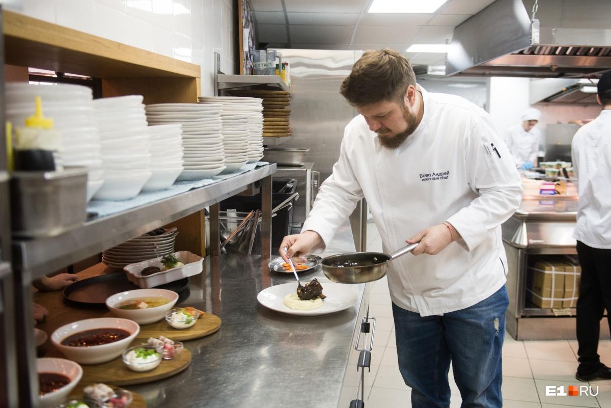 Андрей оставил карьеру столичного повара и приехал на Урал