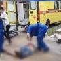 Челябинец, которого на «Жигулях» переехал сосед в полицейской форме, попал в реанимацию
