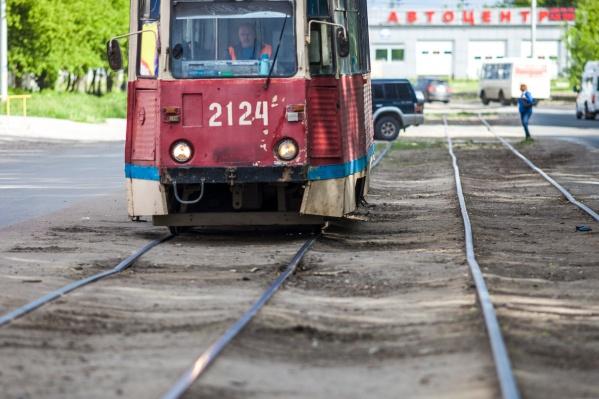 Под ограничение попали трамваи № 2 и № 8