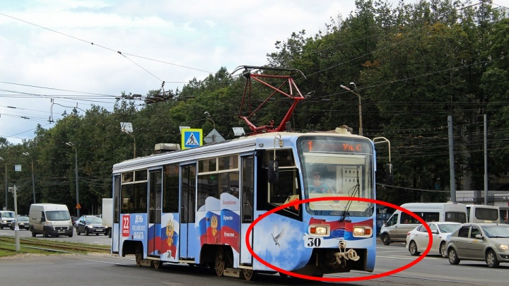 Ярославцев поздравили с Днём флага перевёрнутым триколором