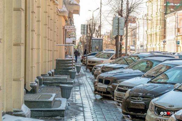 В Самаре реестр парковок будут вести местные власти
