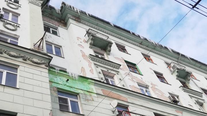 Присвоила «заслуги» погоды. Нижегородская ДУК отчиталась, что почистила крышу от снега в апреле