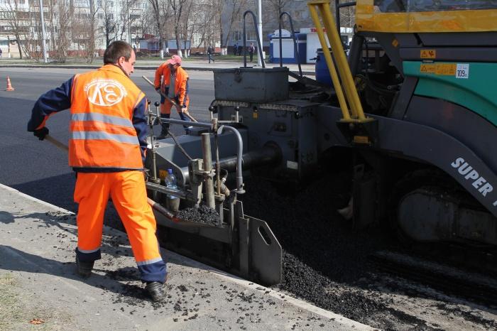 Дорожники приступили к ремонту дороги до Кузбасского моста (фото)