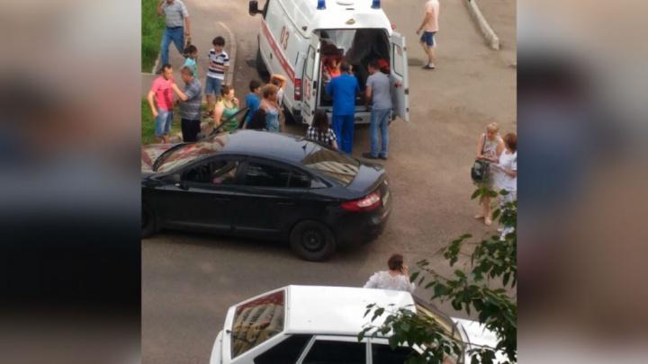 Во дворах Стерлитамака водитель иномарки сбил ребенка