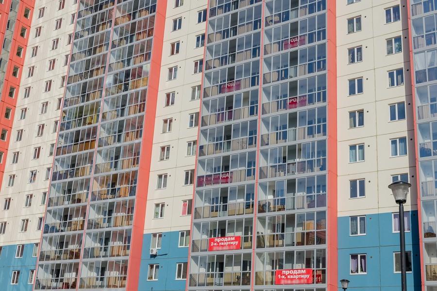 ВНовосибирске стали вдвое чаще торговать квартиры с жителями