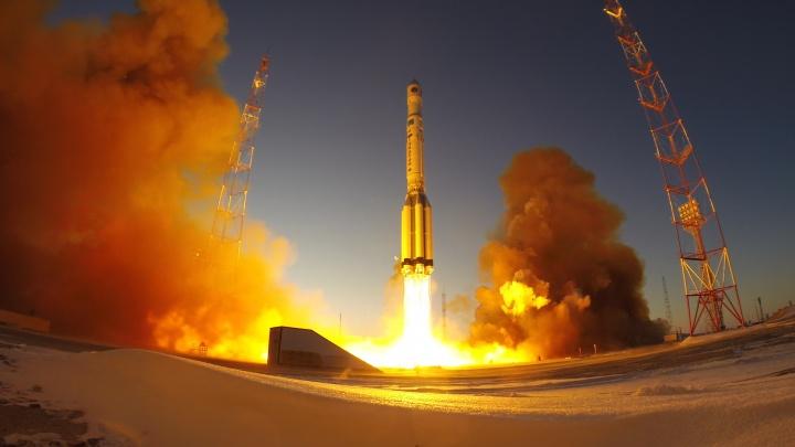 В космос отправили аппарат, который настроили новосибирцы, — смотрим, как его запустили с Байконура
