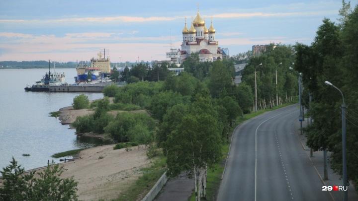 «Архангельск без людей»: угадайте пустынные улицы города в пик белых ночей