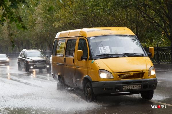 В Волгограде дождь начнётся в обед