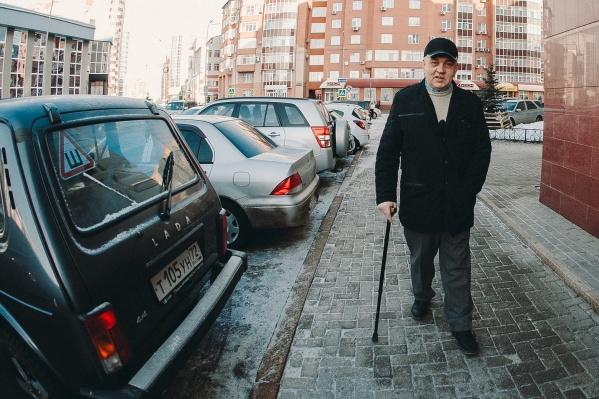 Это уже второй суд из-за сломанных кнопок для инвалидов, который выигрывает Андрей Романов за последний месяц