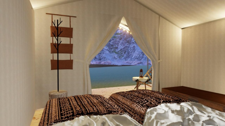 Новосибирец поставил в горах Алтая гламурные палатки — ночь в них дороже, чем номер в «Марриотте»