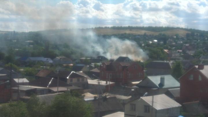 «Дом сгорел полностью»: в Волгограде пожар лишил семью крова