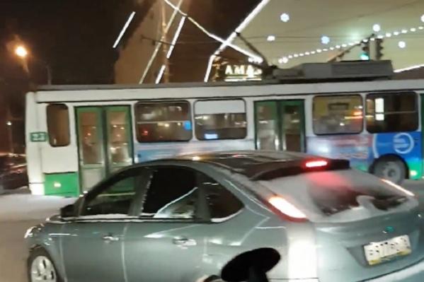 ДТП застопорило движение на перекрёстке
