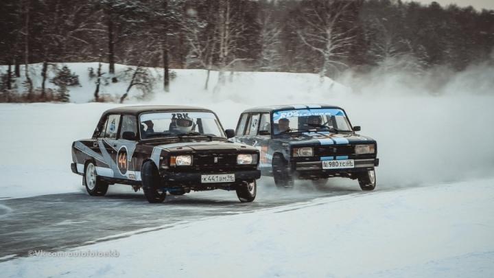 Уральским дрифтерам выставили крупный счет за ледовый автодром, которым запрещали пользоваться