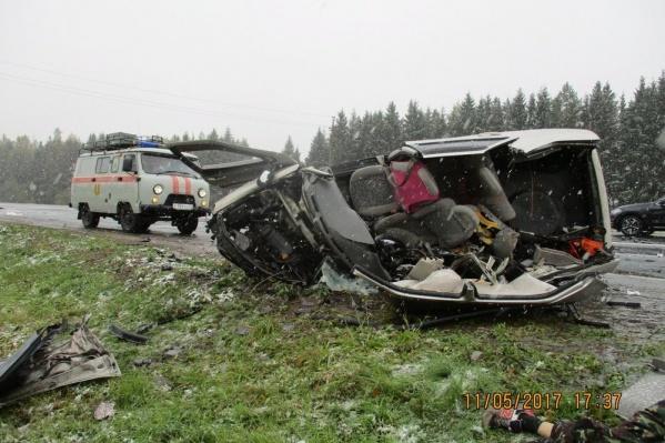 ДТП произошлона 276-м км федеральной автодороги Москва — Холмогоры