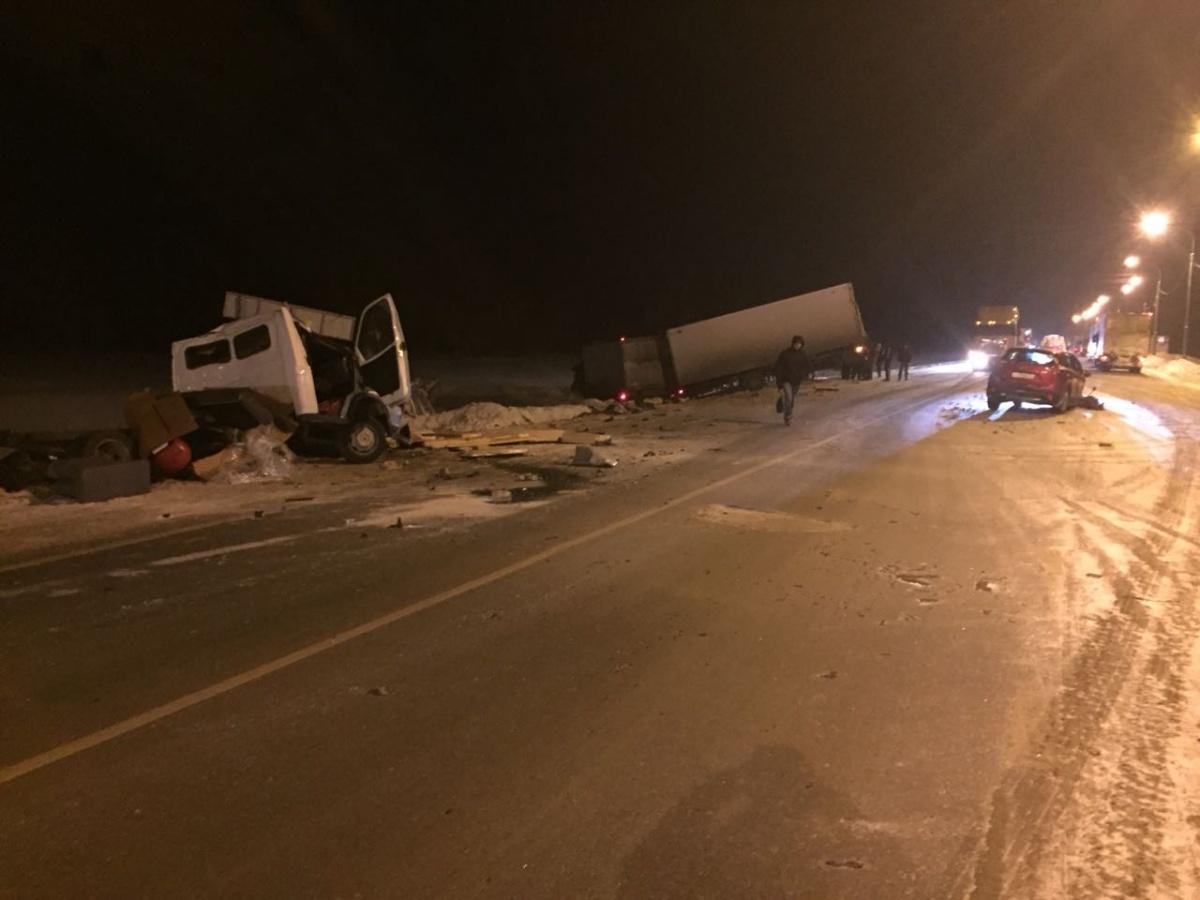 Авария случилась в129 километрах от Новосибирска
