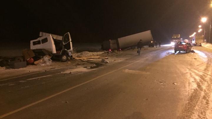 Водитель «Газели» погиб в ДТП с выехавшей на встречку фурой