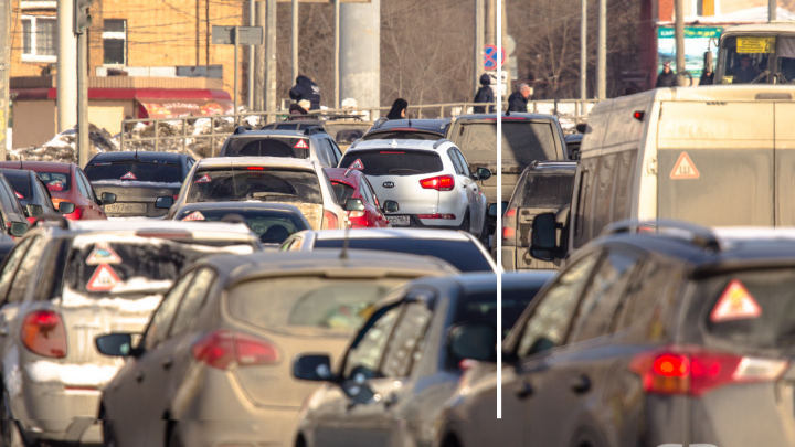 Власти Самары объяснили, почему на Южном мосту образуются пробки