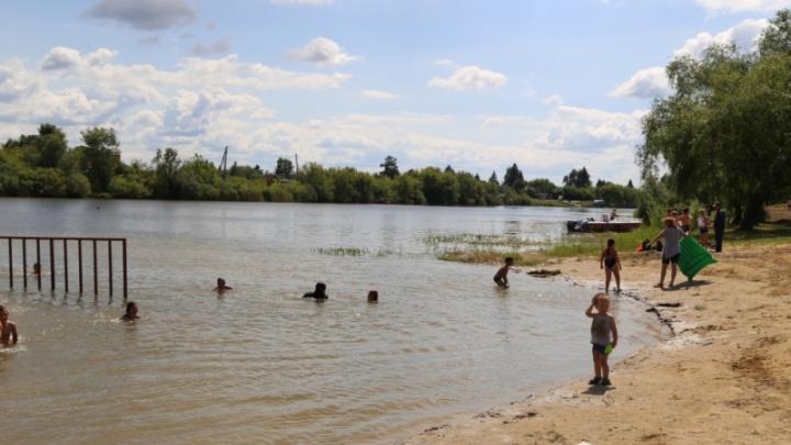 В Курганской области с начала купального сезона утонули 14 человек