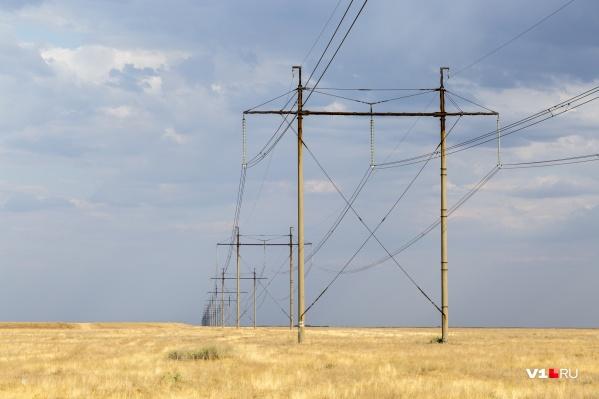 Почти шесть километров линий электропередачи компания считала своим имуществом