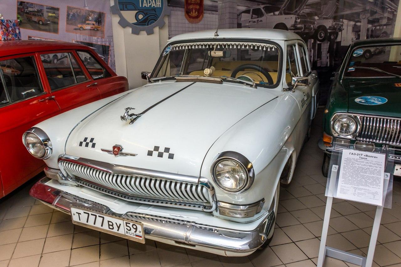 Автомобиль «ГАЗ-21-Волга» из пермского музея «Ретро-Гараж» сняли в исторических сценах