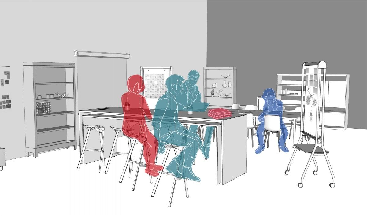 В коворкинге можно работать со своим ноутбуком или арендовать рабочее место