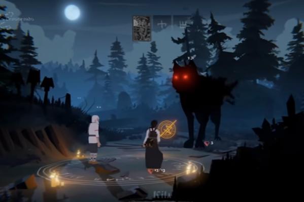 Дед Егор, Василиса и черный волк — персонажи игры