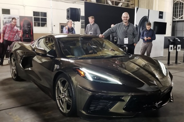 Владимир Капитонов во время презентации нового Corvette сказал: «Это самый большой проект, к которому я когда-либо был причастен»