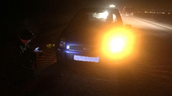 Полицейские устанавливают личность мужчины, сбитого на трассе в Башкирии
