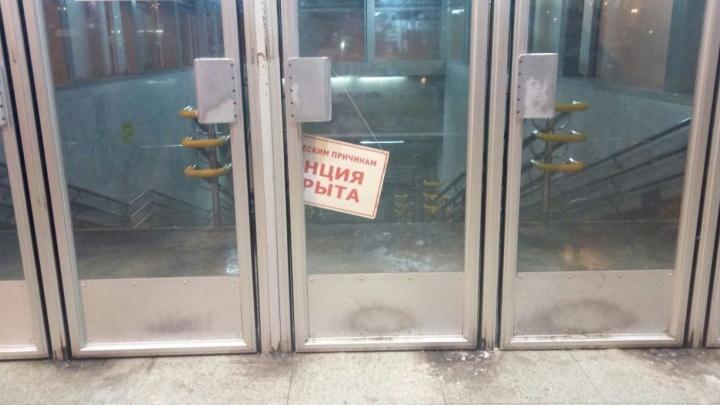 """Двести человек со станции """"Ботаническая"""" пришлось эвакуировать из-за бесхозного рюкзака"""
