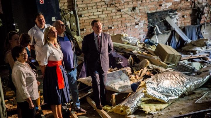 Театр договорился с властями: Сергей Афанасьев отозвал своё заявление об уходе