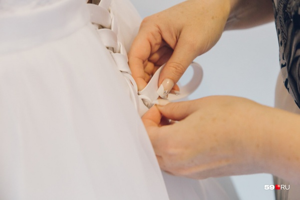На фестивале невесты смогут примерить свадебное платье