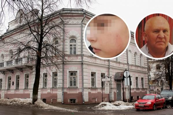 Работника музея обвинили в том, что он ударил школьника