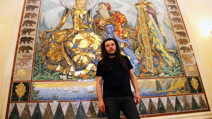 Лидер группы «Калинов мост» приехал в Новосибирск, чтобы записать новый альбом