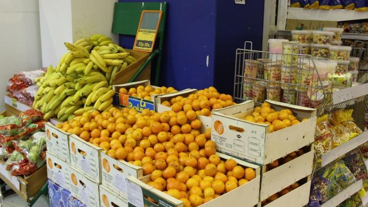 Цены на мандарины полетели вниз: в Новосибирске они подешевели на четверть