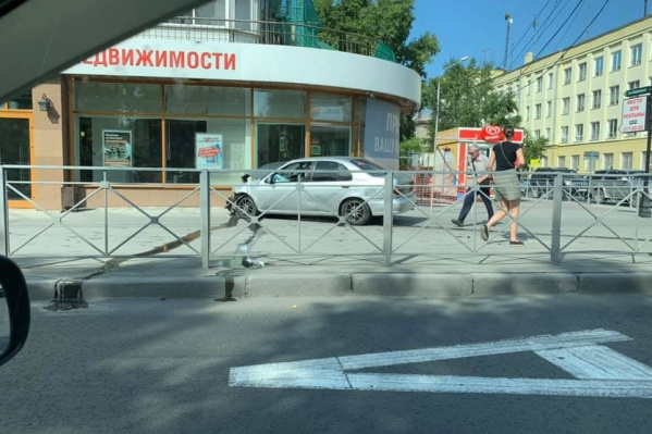 ДТП на Красном проспекте произошло после 10 часов утра