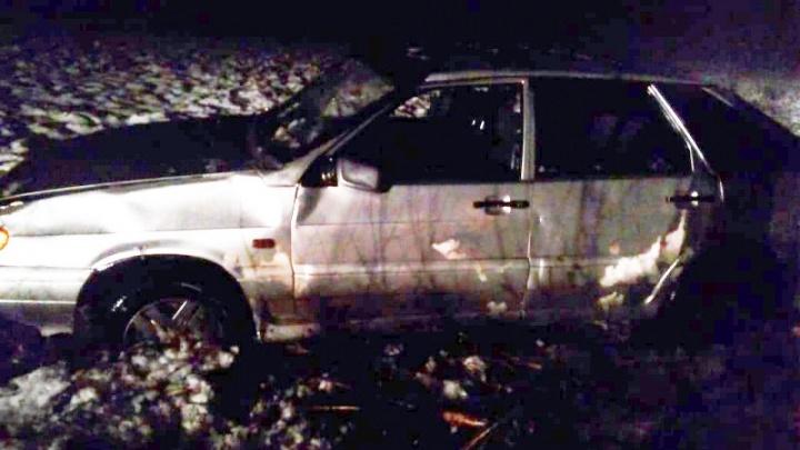 Жительница Башкирии попала в серьезное ДТП под Оренбургом