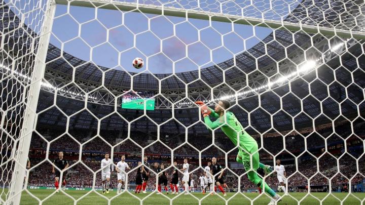 Хорватские футболисты обыграли англичан в «Лужниках» и вышли в финал